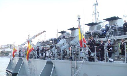 Seis unidades contraminas, en Ceuta