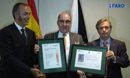 Los empleados de CESMA, protagonistas en el acto de entrega de Sello de Excelencia Europea