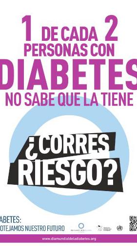 información sobre las fotos del día mundial de la diabetes