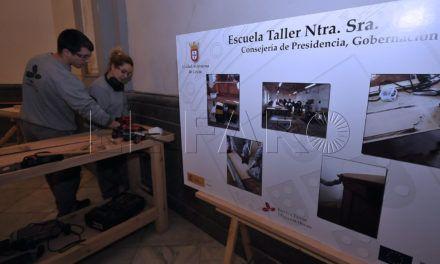 Hoy se ponen en marcha las tres escuelas taller del SEPE en Ceuta