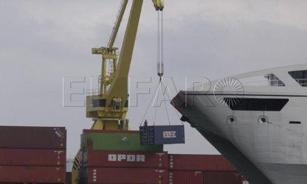 El tráfico portuario en octubre registra una nueva subida del 16,7%