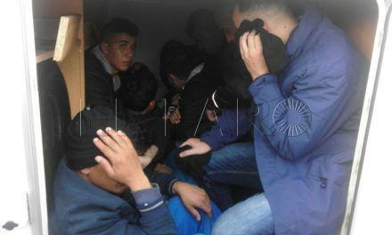 Hacinados en una autocaravana
