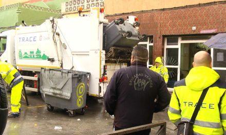 Los camiones de Trace entran en 'el Príncipe'  sin la Policía Local