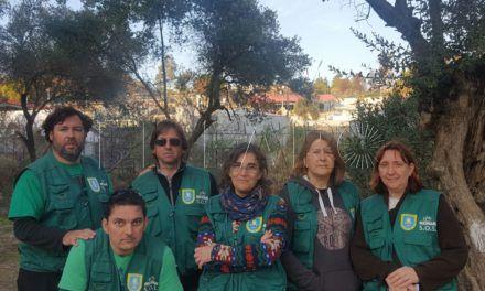 Tres voluntarios ceutíes llevaron su ayuda y cariño a la isla de Lesbos