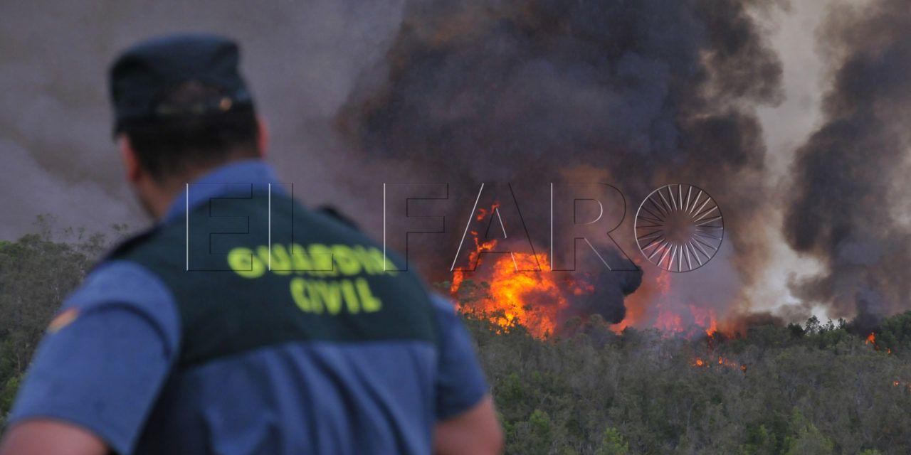 El juzgado togado militar central archiva la causa del incendio en el monte de la tortuga el for Juzgado togado militar