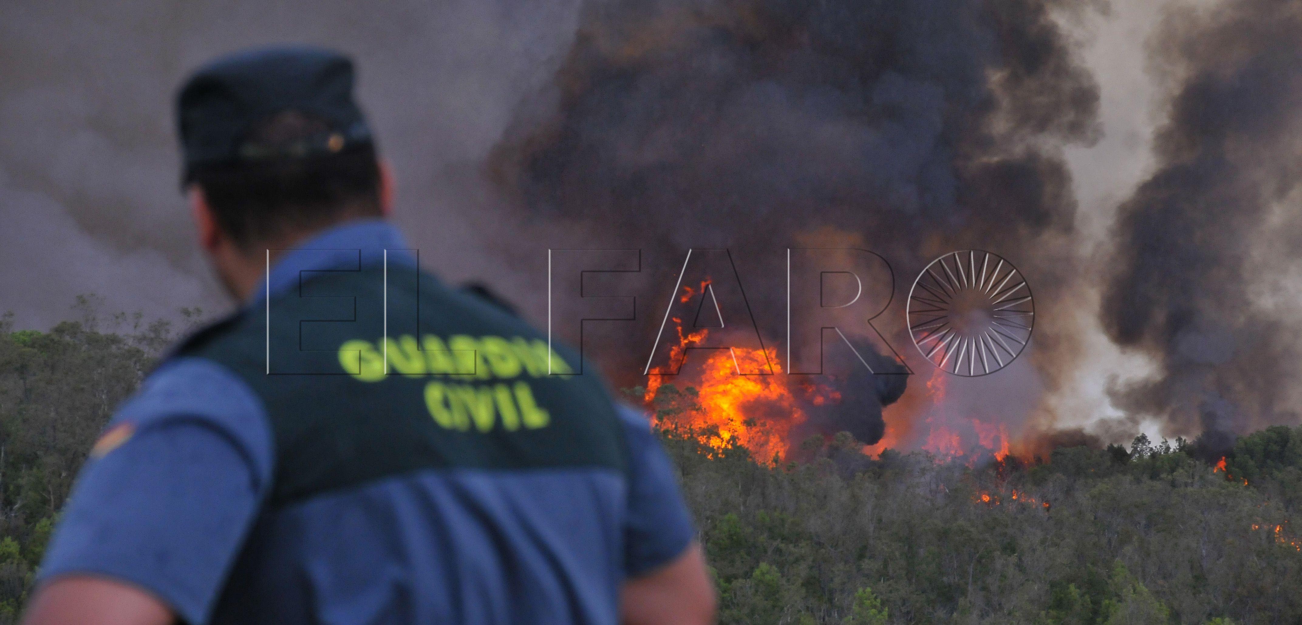 La Consejería propone una sanción a Defensa de 1 millón y medio de euros por el incendio en el Monte de La Tortuga