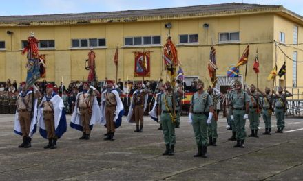 Homenaje a la Inmaculada, Patrona de Infantería
