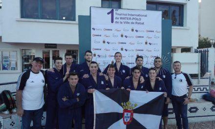 El CN Caballa, campeón del torneo internacional Villa de Rabat