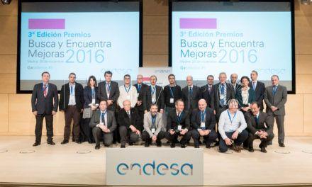 Empleados de Endesa en Ceuta reciben el Premio BYEM de mejora en medioambiente