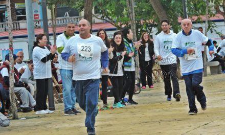 Medio centenar de participantes en la Carrera de la Discapacidad