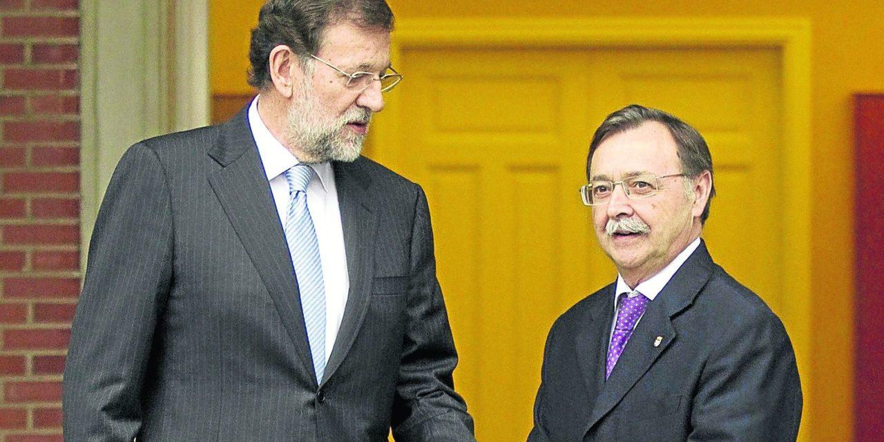 Vivas transmite a Rajoy el problema que existe con la frontera y el comercio