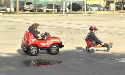 Los juguetes invaden las calles
