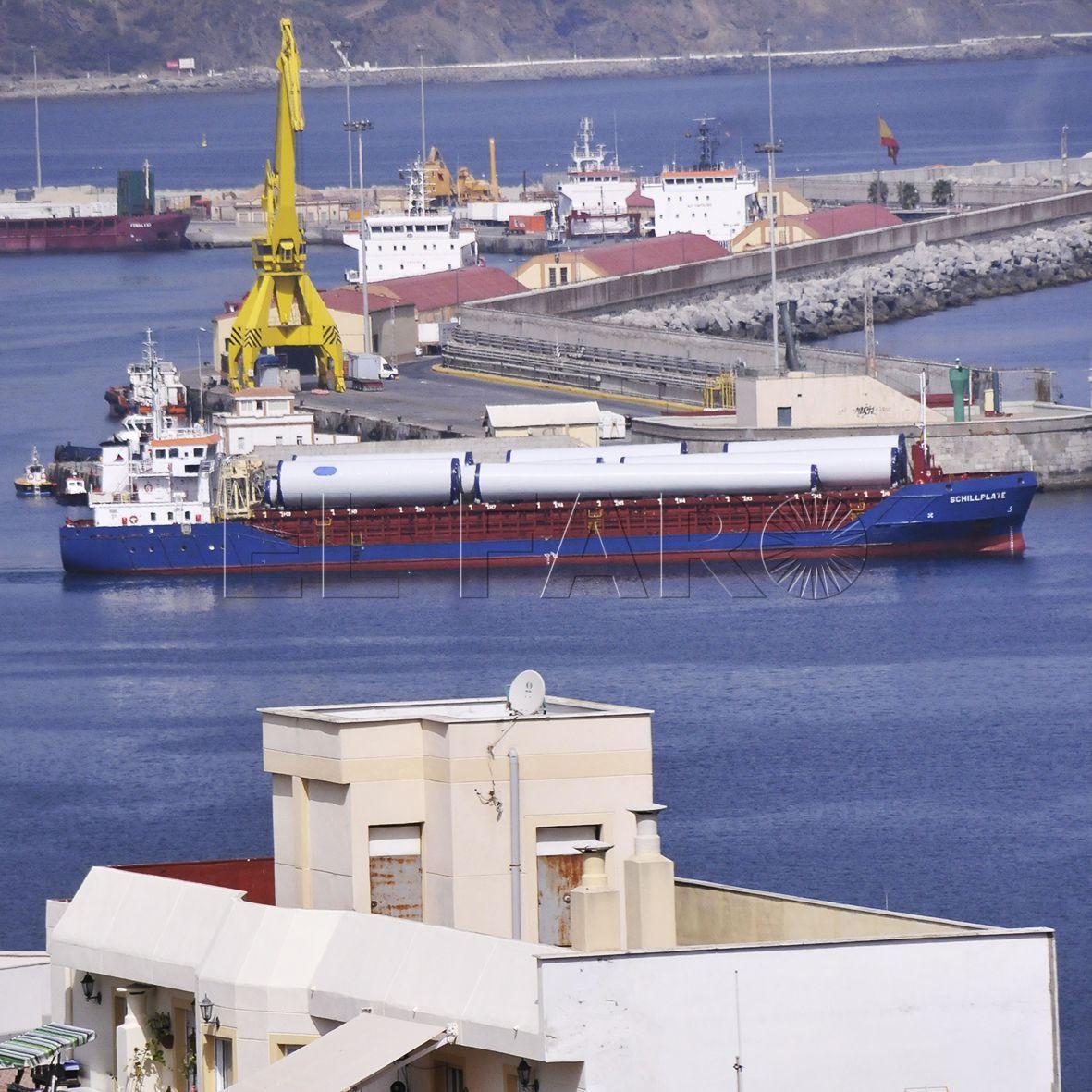 El tráfico portuario registra una subida del 16,6% en once meses