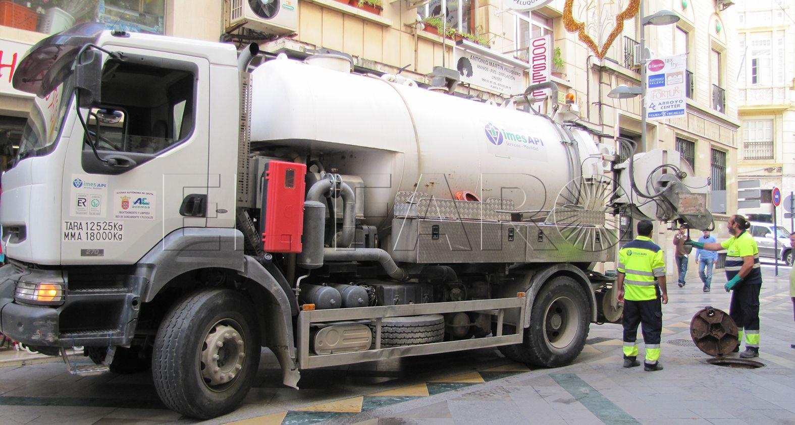 Doce empresas licitan para llevar el saneamiento público de Ceuta