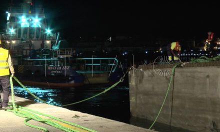 'Little' ya está amarrado en el puerto