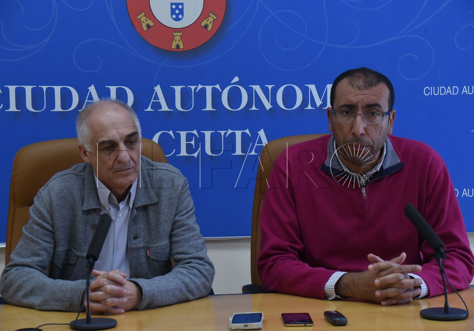 """Aróstegui: """"En todo lo que concierne  a Ceuta, manda el país vecino"""""""