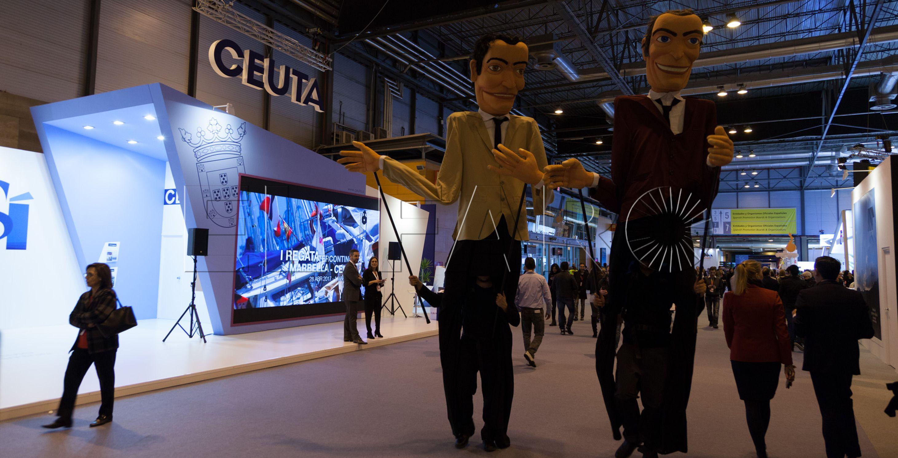 Ceuta hace sus últimos contactos en Fitur antes de abrir al público