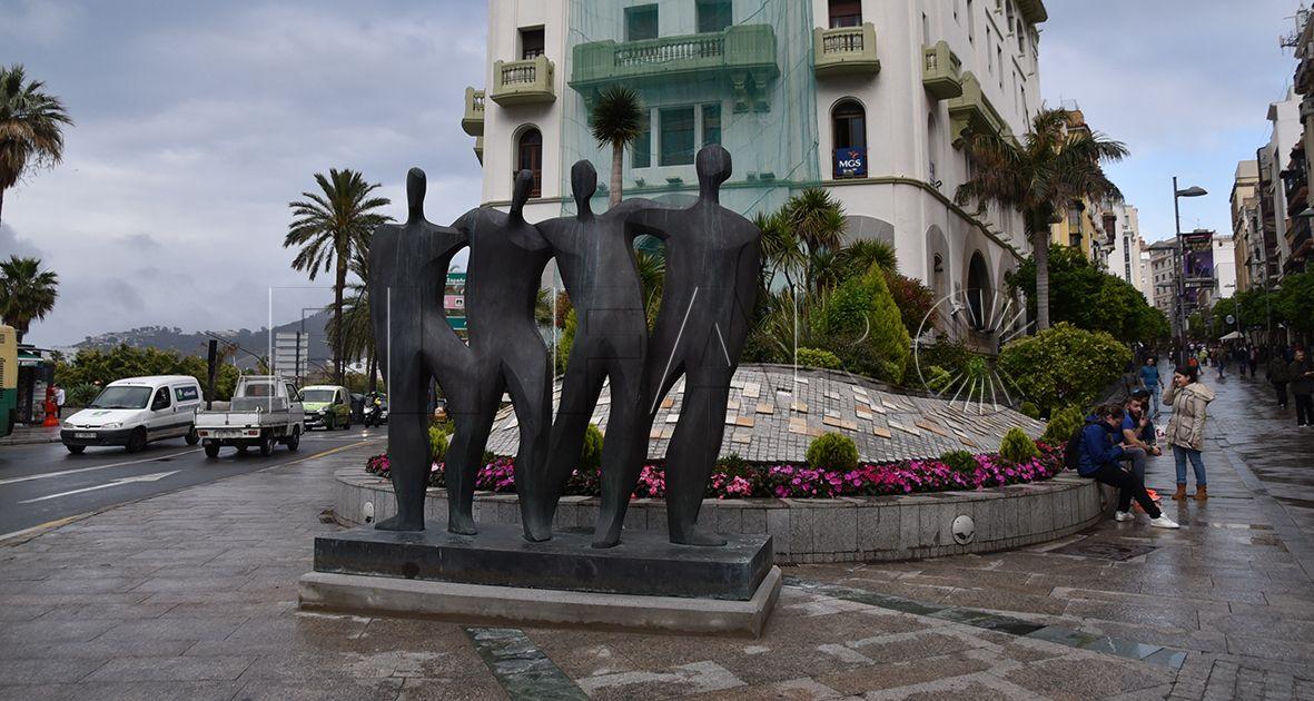La Ciudad adquiere finalmente la estatua de Laverón por 165.000 euros