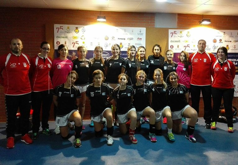 La selección cadete femenina se mete en semifinales tras ganar a Castilla- La Mancha