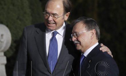 El presidente Vivas llega a la VI Cumbre Autonómica