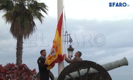 Arriado de bandera de la ULOG-23