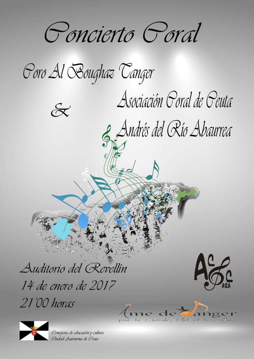 El Teatro del Revellín acogerá el sábado un concierto de la asociación coral de Ceuta y del coro tangerino Al Boughaz