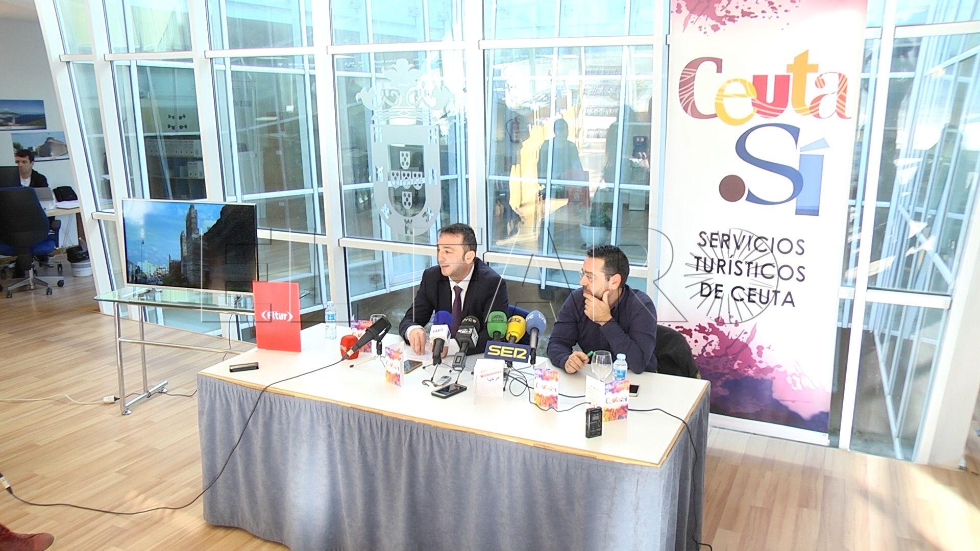 El stand de Ceuta en FITUR mejora su ubicación respecto a ediciones anteriores