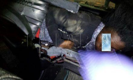 La Guardia Civil libera a dos subsaharianos ocultos en un coche y detiene a su pasador
