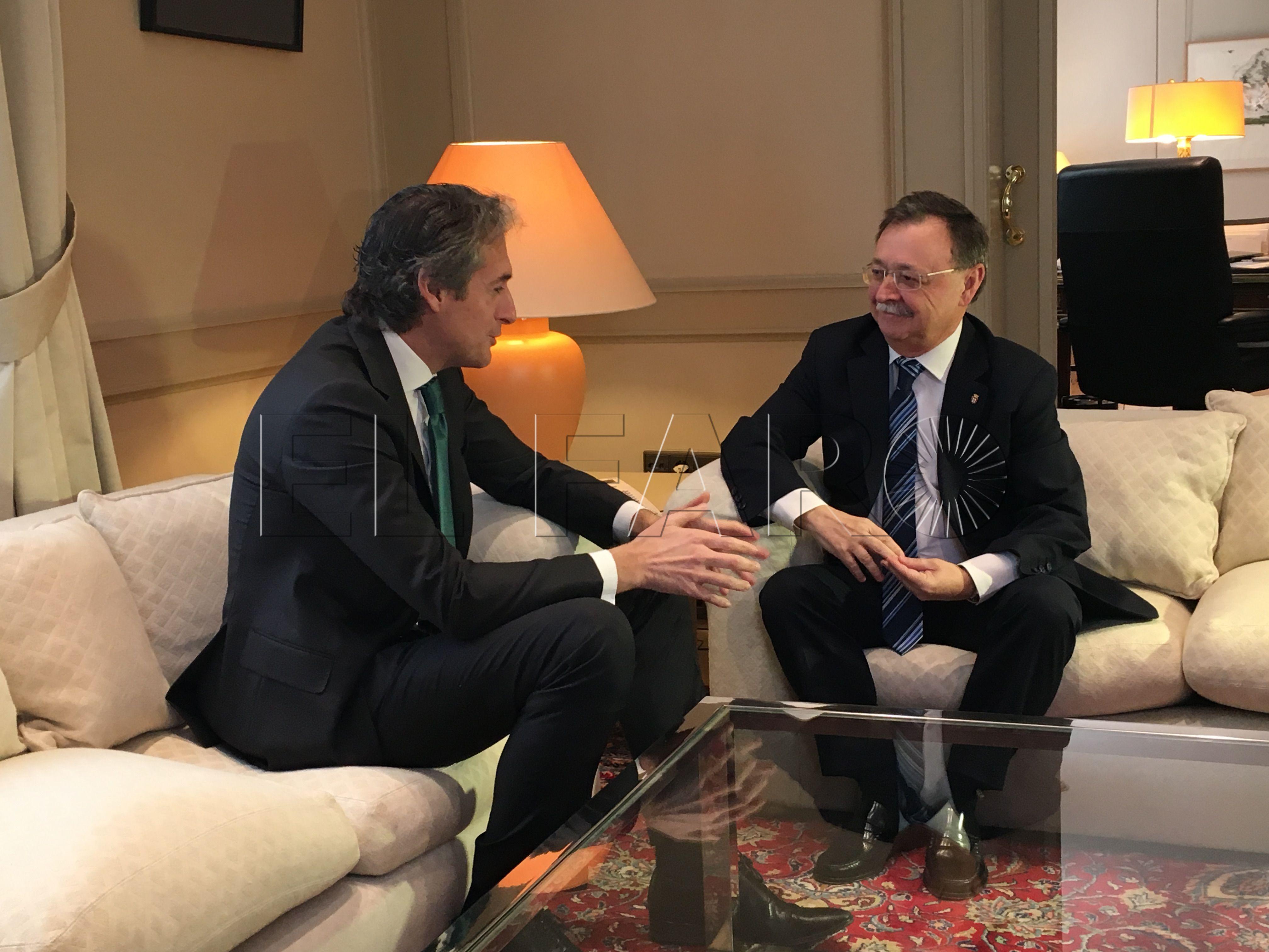 Vivas destaca el compromiso del ministro de Fomento con el desarrollo de Ceuta