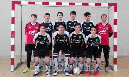 Ceuta y Andalucía juegan un amistoso de cara al Nacional Sub-16