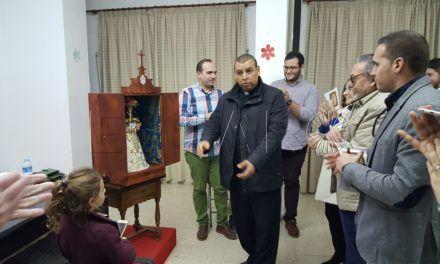 El 'Rocío' establece una capilla itinerante de su titular