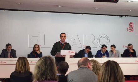 """Hernández espera que, """"de nuevo y dentro de poco, el PSOE sea un partido fuerte, unido y cohesionado, muy capaz de ganar las elecciones"""""""