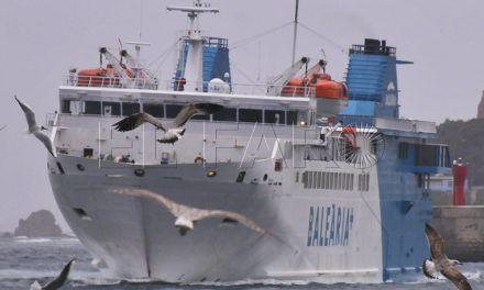 La Ciudad se reúne mañana con Fomento para el nuevo contrato de la línea marítima