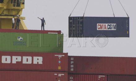El Puerto cumple las previsiones y su tráfico crece un 15% en 2016