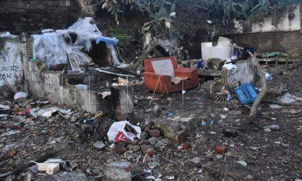 Atracos y robos en Los Rosales como consecuencia de un asentamiento ilegal