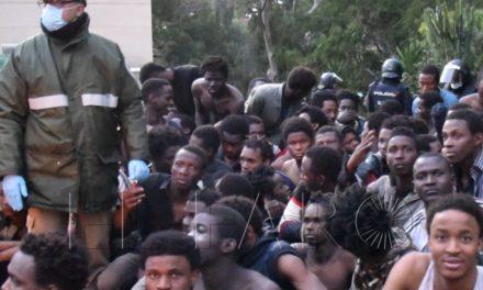 Menos de diez guardias civiles controlaban el perímetro en la madrugada del pase