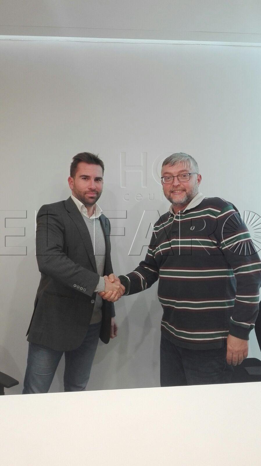 La Federación de Pádel firma un convenio con la HCCeuta