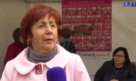 Hilda Castro, Premio María de Eza a la Mujer ceutí del año