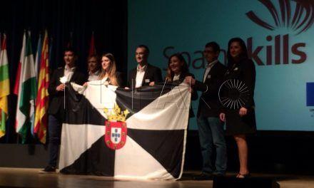 La bandera ceutí ondea en los FP Skills