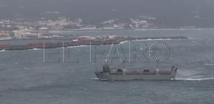 El Puerto de Ceuta cierra por las condiciones climatológicas adversas