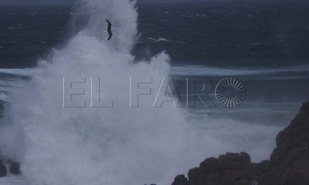 La Aemet activa la alerta amarilla a partir del jueves por fenómenos costeros y fuerte viento