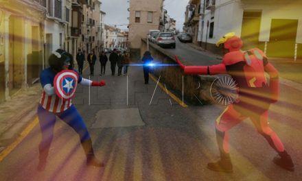Capitán América e Iron Man 'ganan' el concurso del Casino de Ceuta
