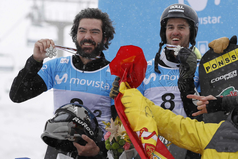 Plata para el ceutí Regino Hernández en el mundial de snowboard