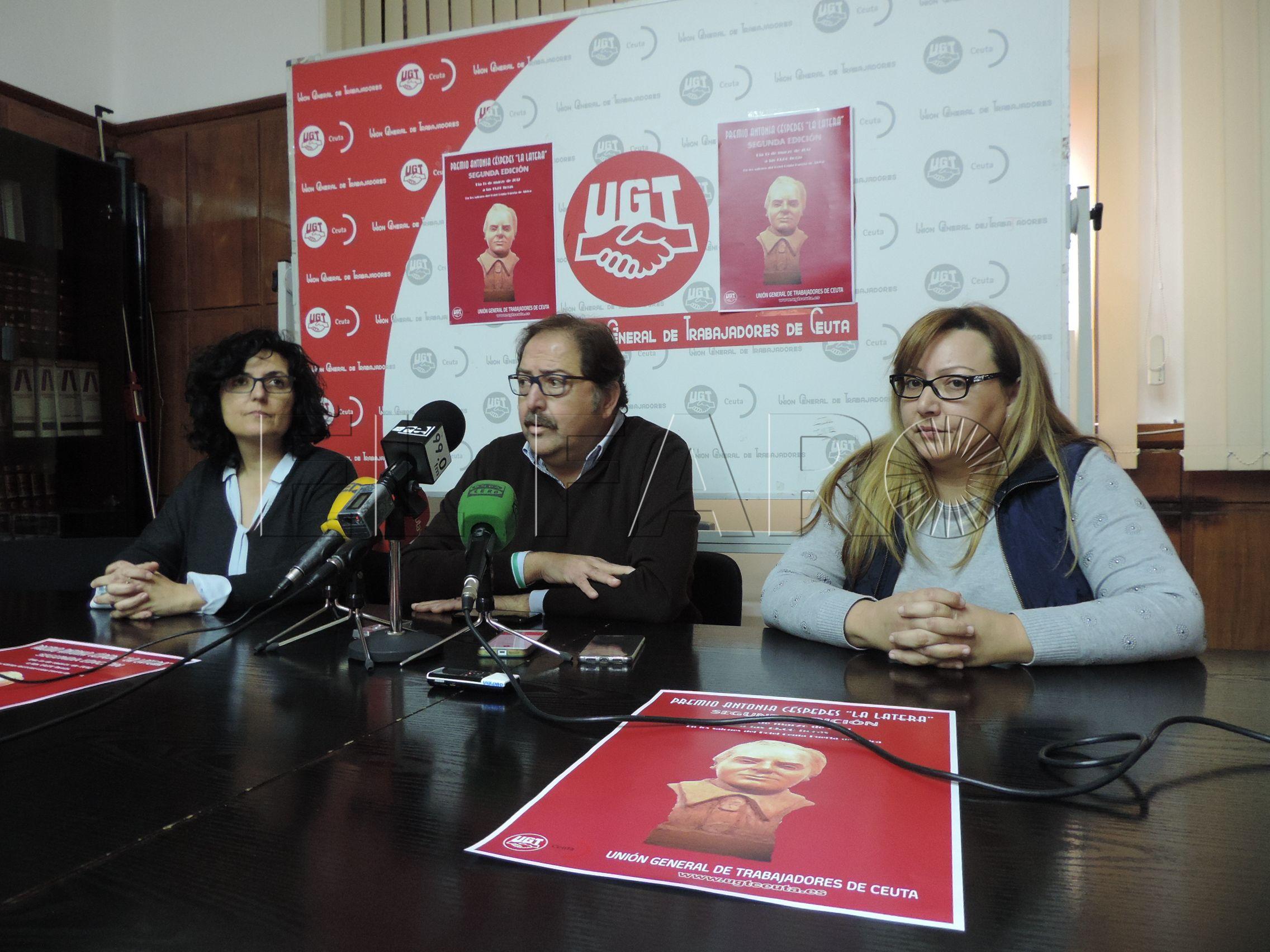 UGT busca recuperar la memoria histórica con el premio Antonia Céspedes 'La Latera'