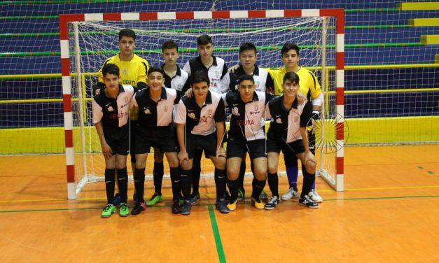 El Bahía de Ceuta, campeón en la categoría Cadete de fútbol-sala