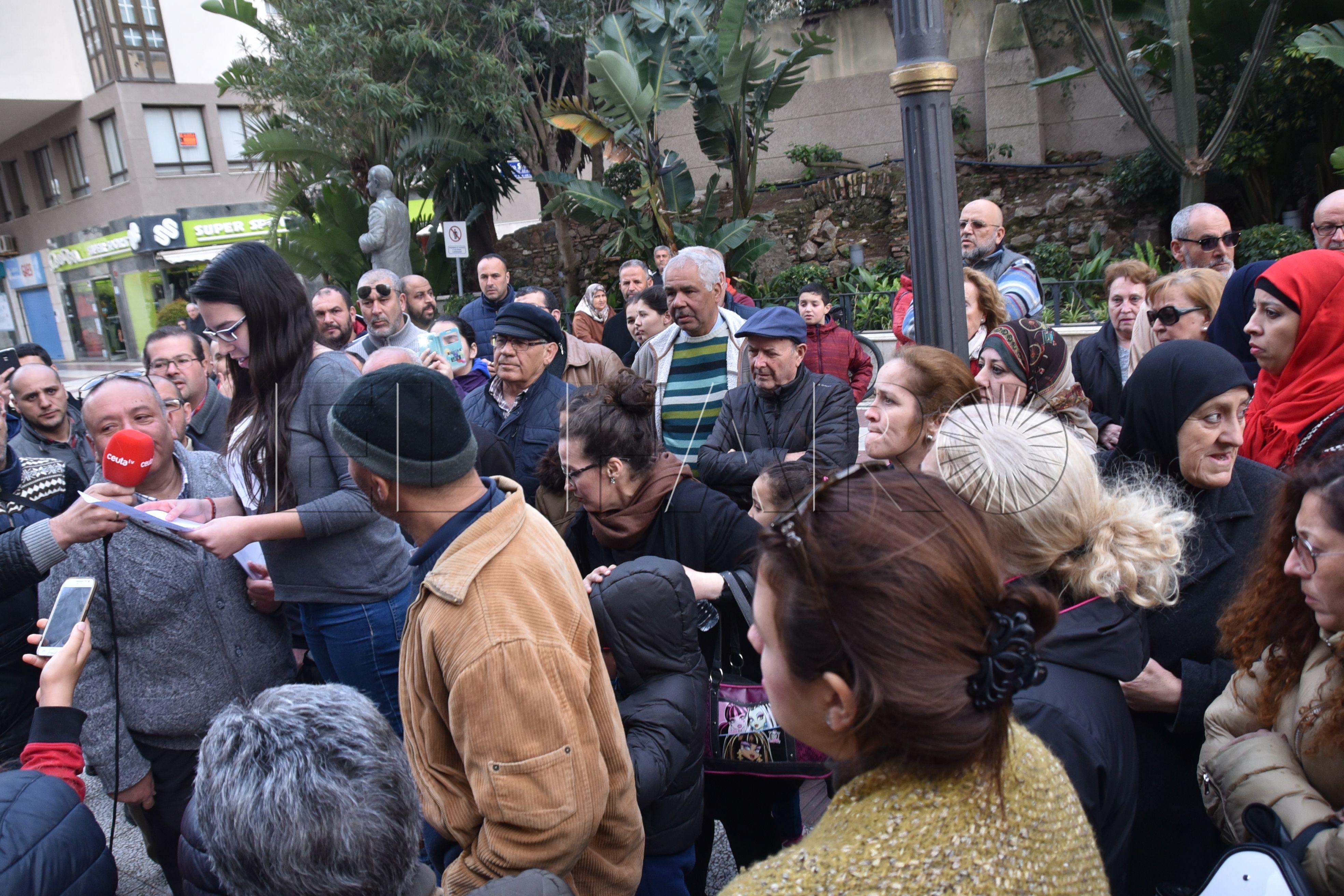Escaso respaldo a la protesta de 'La Voz del Pueblo'