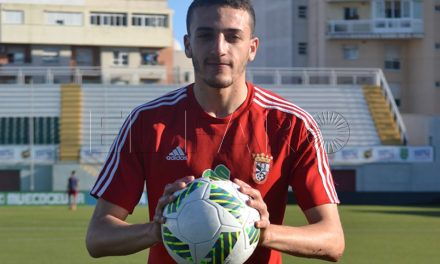 Adil, el 'cazagoles' del Ceuta FC