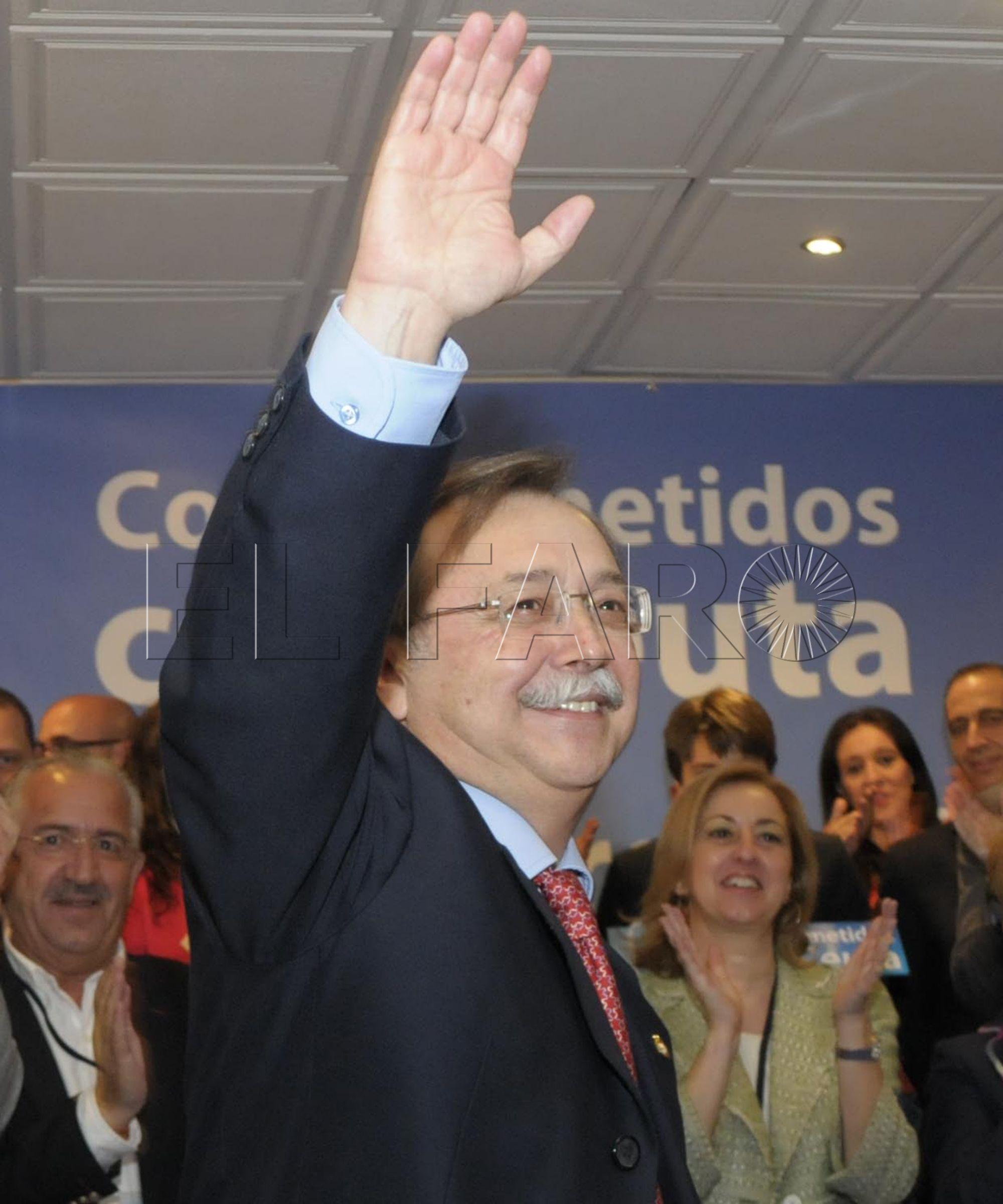 Vivas será reelegido hoy como presidente de los populares ceutíes