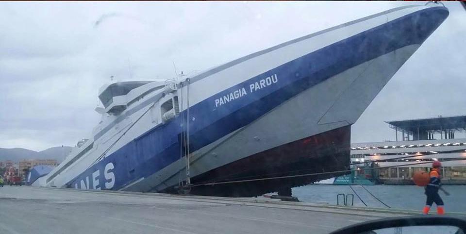 Estragos del temporal en Algeciras y Ceuta continúa aislada