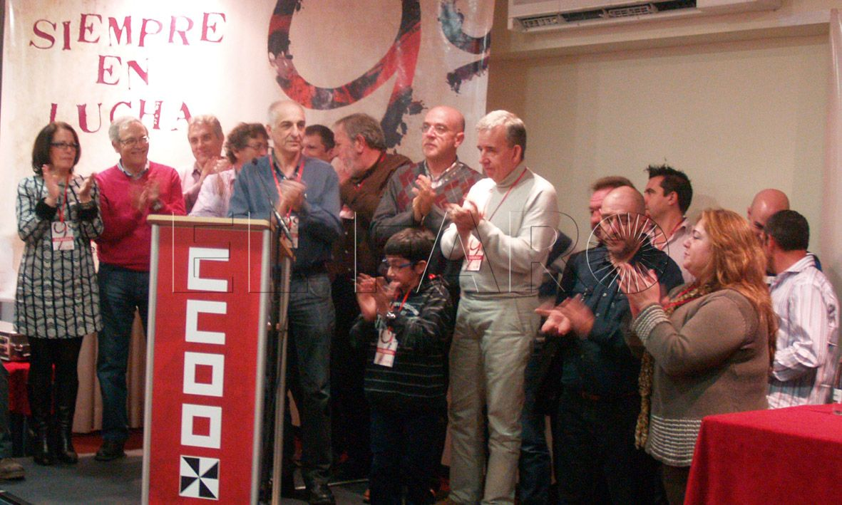 Aróstegui aspirará a seguir liderando CCOO de Ceuta tras su X Congreso